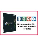 Office 2011 Home and Business for 3Mac - Download Link - Instant Delivery - $12.99