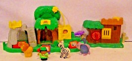 Fisher Price Little People Zoo & Castle (For Parts) - $19.57