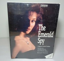 THE EMERALD SPY New A Jigsaw Puzzle Thriller 500 Pieces by R.D. Zimmerman - $48.51