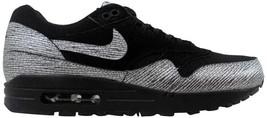 Nike Air Max 1 Premium Black/Metallic Hematite-Black 454746-005 Women's SZ 6.5 - $55.41