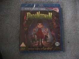 PARANORMAN 3D+2D BLU-RAY [UK] NEW BLURAY FOREIGN ONLY - $11.86