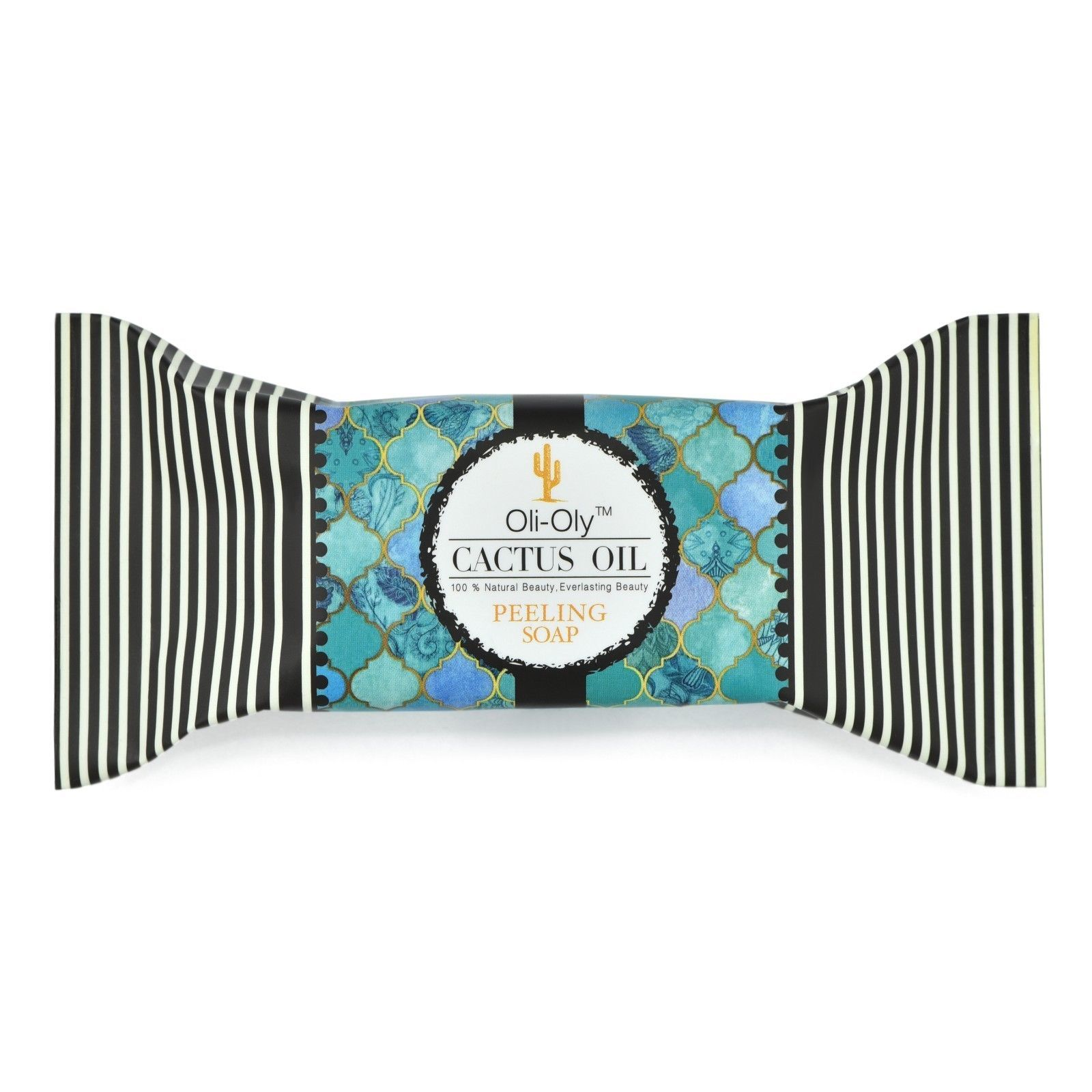 Natural Peeling Soap with Moroccan Cactus Oil 50 g by Oli-Oly - $3.25 - $17.55
