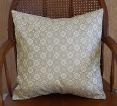 """2 Pillow Covers geometric woven poly cotton blend for 18"""" pillows beige,... - $28.75"""