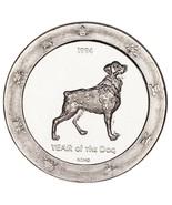 1994 Anno Di The Dog .999 Argento 1 Oncia Gaming Rotondo Carciofo Joe's da - $62.87