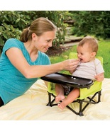Baby Booster Seat Portable Infant Folding Chair Pop Up Travel Seating To... - $48.49
