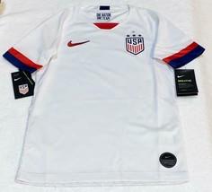 Nike USA United States Soccer Team Stadium YOUTH JERSEY CQ4249-100 Boys ... - $42.03
