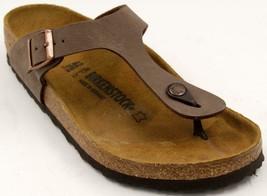 Birkenstock Gizeh Original Men's Thong Sandal Man Flip Flops Brown Sanda... - $81.22