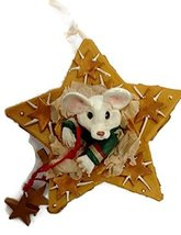 Merry Chrismouse In Gift Box Ornament by Kurt S Adler (Gold) - $17.50