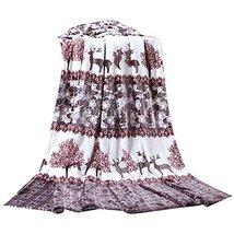 Deer Cartoon Summer Baby Towel Coral Carpet Air Conditioning Blanket image 2