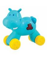 Navystar Press N Go Hippo Musical Safari Yellow/Blue - $15.04