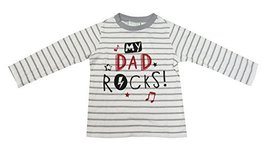 First Impressions Play Baby Boys My Dad Rocks Tee (24 Months) - $11.88