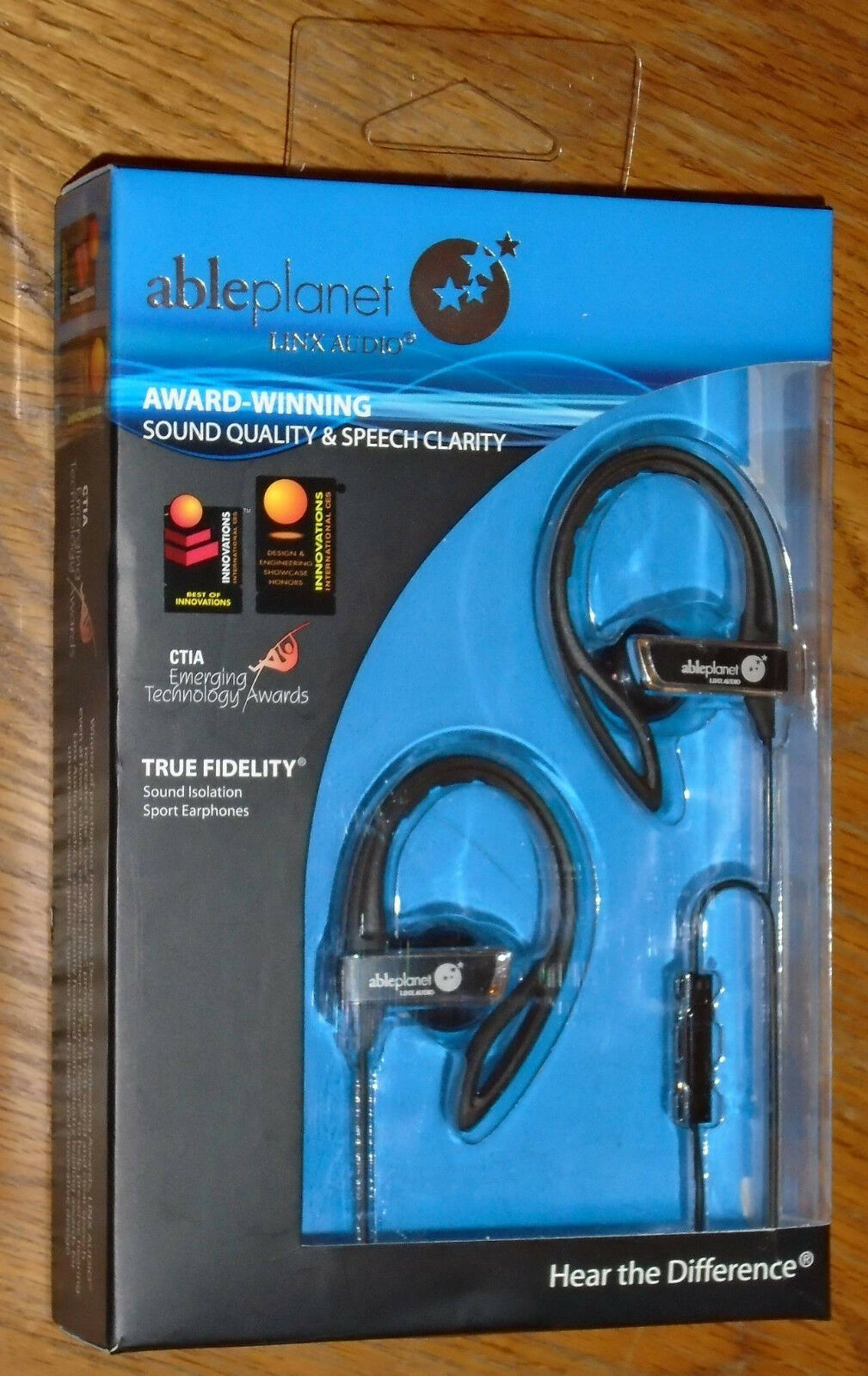 Able Planet: Ableplanet TRUE FIDELITY Sound Isolation Sport Earphones