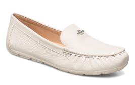 COACH Marley Driver Loafers Shoes Chalk Size 8.5 - $118.79