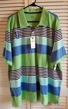 Izod Saltwater Polo/Rugby/Golf Shirt Relaxed Classics Chatham Clique Men... - $15.85