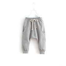 (gray size 7)2016 Sports Fitness Kid Toddler Child Harem Pants Baby Boy ... - $26.00