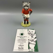 Beswick The Footballing Felines Collection KitCat FF3 1259/1500 1998 Dou... - $34.64