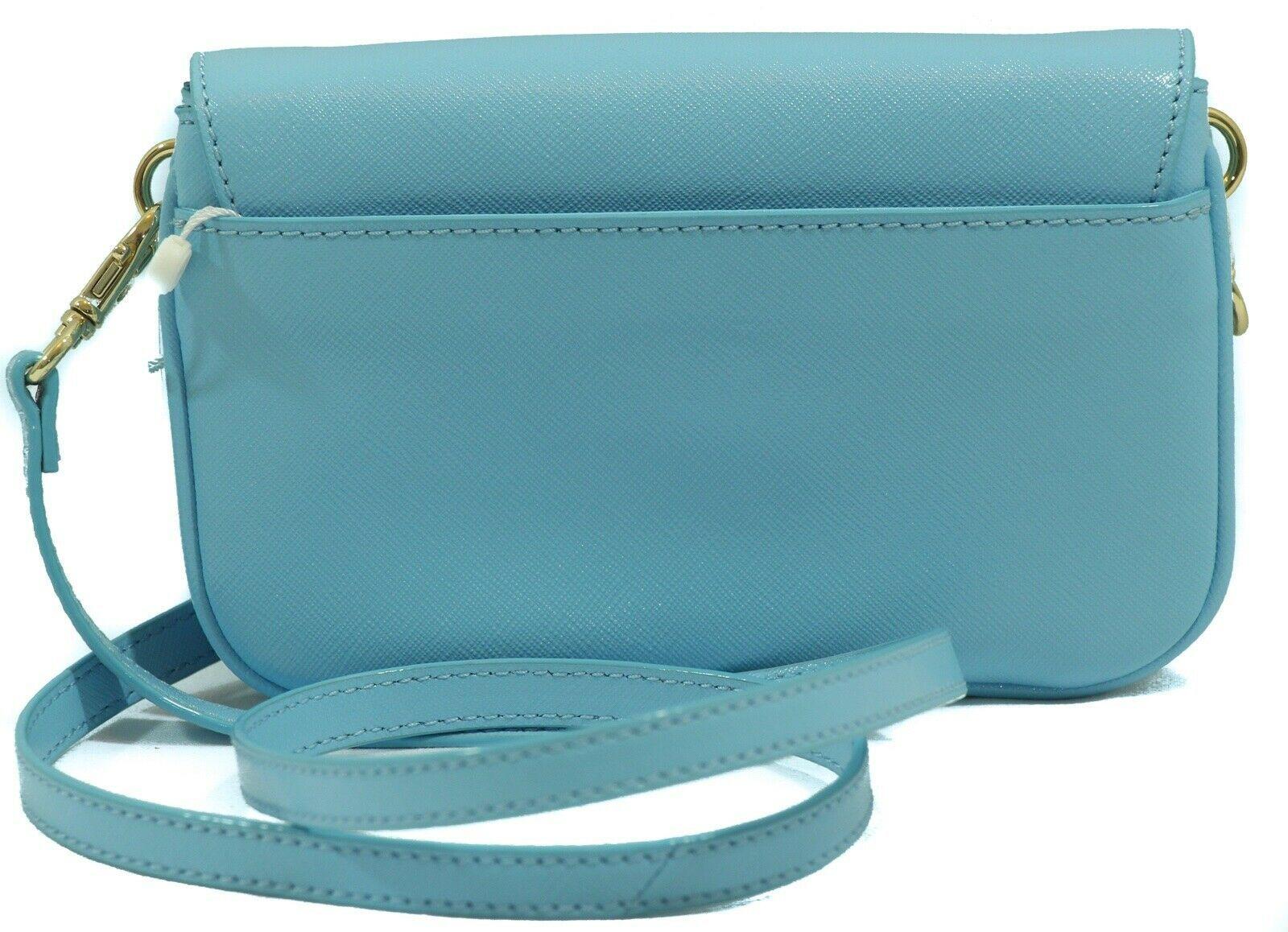 NWT TORY BURCH Robinson Crossbody Clutch Bag, Blue
