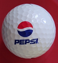 Pepsi Logo Golf Ball Nike PD Long Vintage Advertising Premium Preowned - $15.99