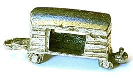 BOX CAR TRAIN FINE PEWTER  FIGURINE - Approx. 1 3/8 inches Long  (T171) image 3