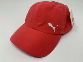 NEW PUMA Women's Dri-Fit Adjustable Cap/Hat, Coral, PV1019 - $49.38