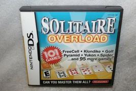 Solitaire Overload (Nintendo DS, 2007) - $6.00