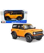 """2021 Ford Bronco Badlands Orange Metallic with Black Top \""""Special Editi... - $31.95"""