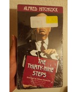 "ALFRED HITCHCOCK ""THE THIRTY-NINE STEPS"" VHS 1992 front row sealed - $16.17"