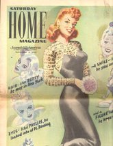 Saturday Home Magazine, Journal American, November 6, 1943 - $9.95