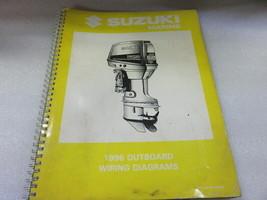 PM84 1996 Suzuki Outboard Wiring Diagrams Manual P/N 99954-53960 - $9.13