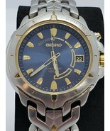 Seiko Kinetic watch for men 5m62-0d10 Date 100 Meters Water RESISTANCE - $217.97