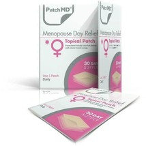 PatchMD Menopause Day - Topical Patch (30 Day Supply) - EXP 2022 - $14.45