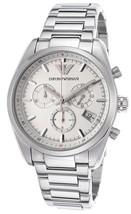 Emporio Armani SPORTIVO Chronograph Mens Watch AR6013 $345 NWT - $179.99