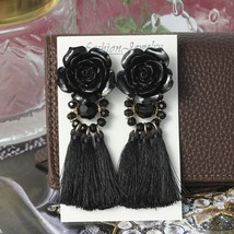 Vintage Women Tassel Earrings 15 Colors Boho Statement Brand Jewelry - $9.99