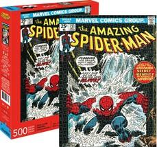 Marvel Spider-Man Cover 500 pieces puzzle Aquarius