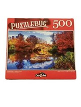 """Puzzlebug 500 Piece Puzzle Central Park,  Autumn, NYC 18.25""""  X 11"""" New ... - $6.23"""