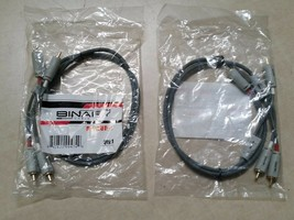 Lot of 2 Binary Cables B3-AUD-1 842822004749 Fast Free USA Shipping Best... - $17.46