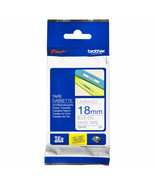 Brother Laminated 18mm Tape Cassettes (Pack of 6), Blue on White, TZe-243 - $128.99