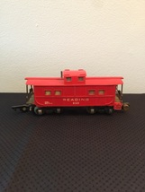 American Flyer Railroad Car Reading #630 - Red Caboose image 1