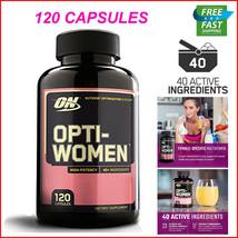 120 Caps Optimum Nutrition Opti-Women Daily Multi-Vitamin For Females 18... - $21.36+