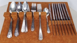 Vintage W.M. Rogers Oneida Stainless Sectional Flatware 52 Pieces - $74.25
