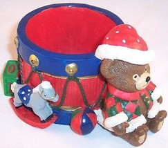 NEW Potpourri Designs Christmas Bear Holiday Candy Dish - $8.99