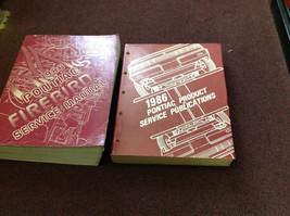 1986 GM OEM Pontiac Firebird Trans Am Service Shop Repair Manual Set Pub... - $118.75