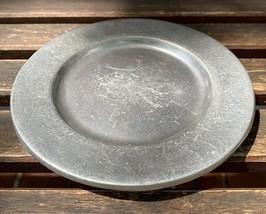 Vintage Bon Chef Salad Pewter Plates, Set of 2 - $15.00