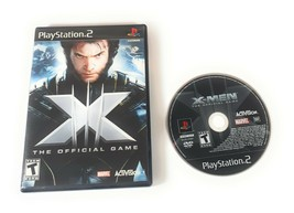 X-Men The Official Game PS2 Complete Sony PlayStation 2 Marvel Activision (2006) - $10.39