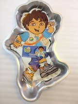 Wilton Go Diego Go Viacom Cake Pan Mold Cover Sheet 2105-4250 + Instruct... - $32.83