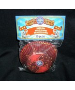 NEW 25 PACK RINGLING BROS BARNUM BAILEY CIRCUS BIRTHDAY PARTY BAKING CUP... - $5.38