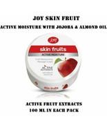 3 X JOY SKIN FRUIT MOISTURISING MASSAGE CREAM WITH JOJOBA & ALMOND OIL- ... - $18.32