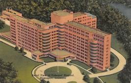 SHREVEPORT, LA Louisiana  VA~VETERANS HOSPITAL~Bird's Eye View c1940's P... - $4.97