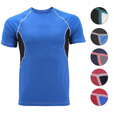 Men's Cool Quick-Dry Gym Workout Sport Running Breathable Performance T-shirt