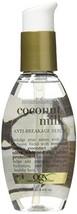 Ogx Coconut Milk Serum Anti-Breakage 4oz (3 Pack) - $50.46